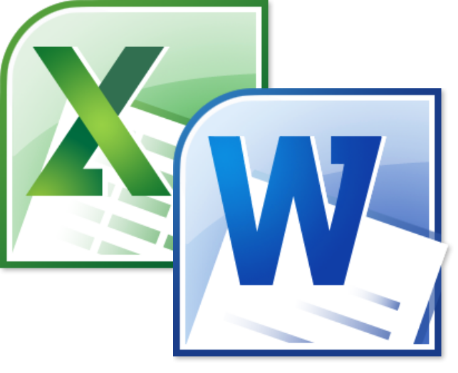 Word y Excel nivel medio-avanzado