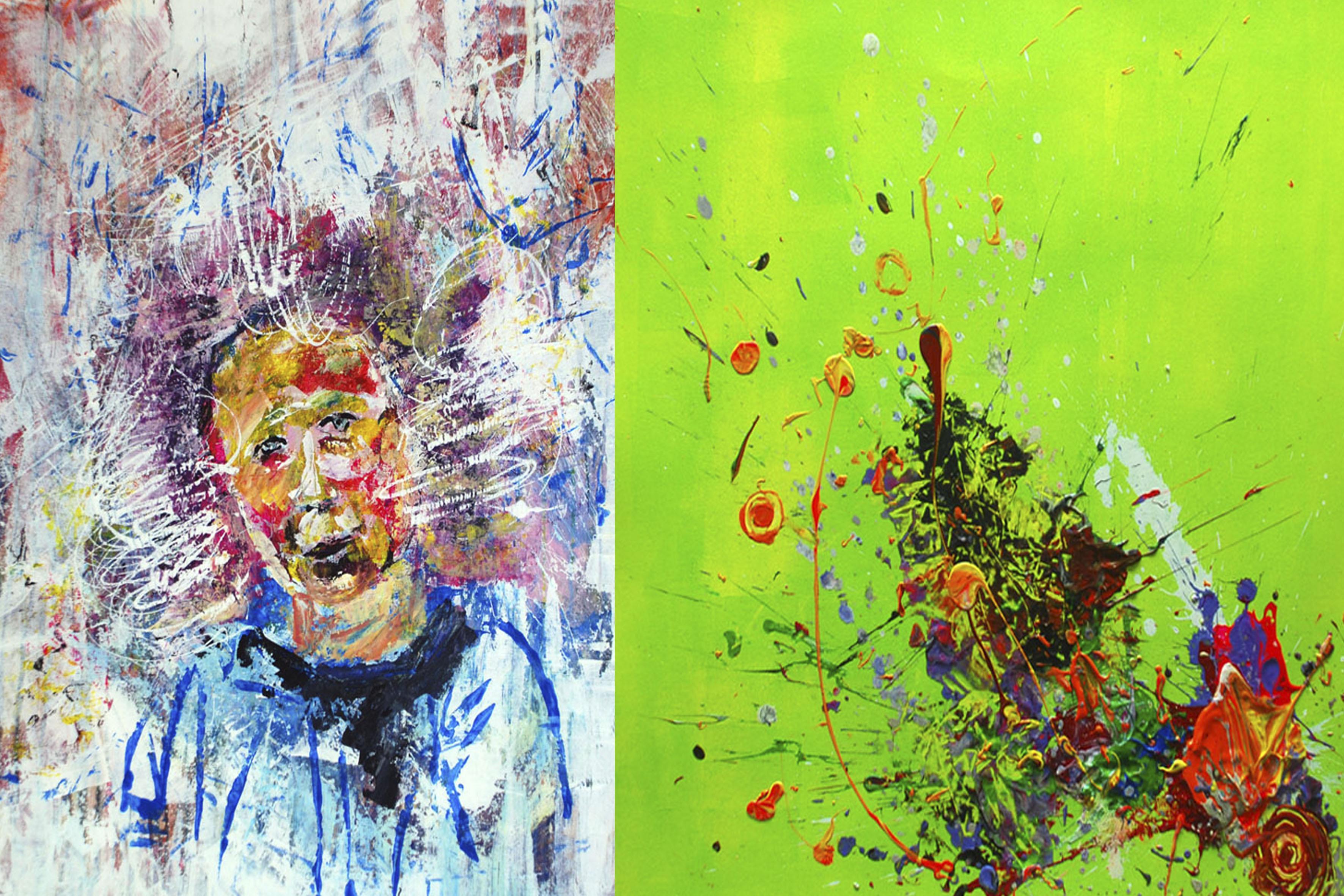 Pintura contemporánea: Juegos pictóricos