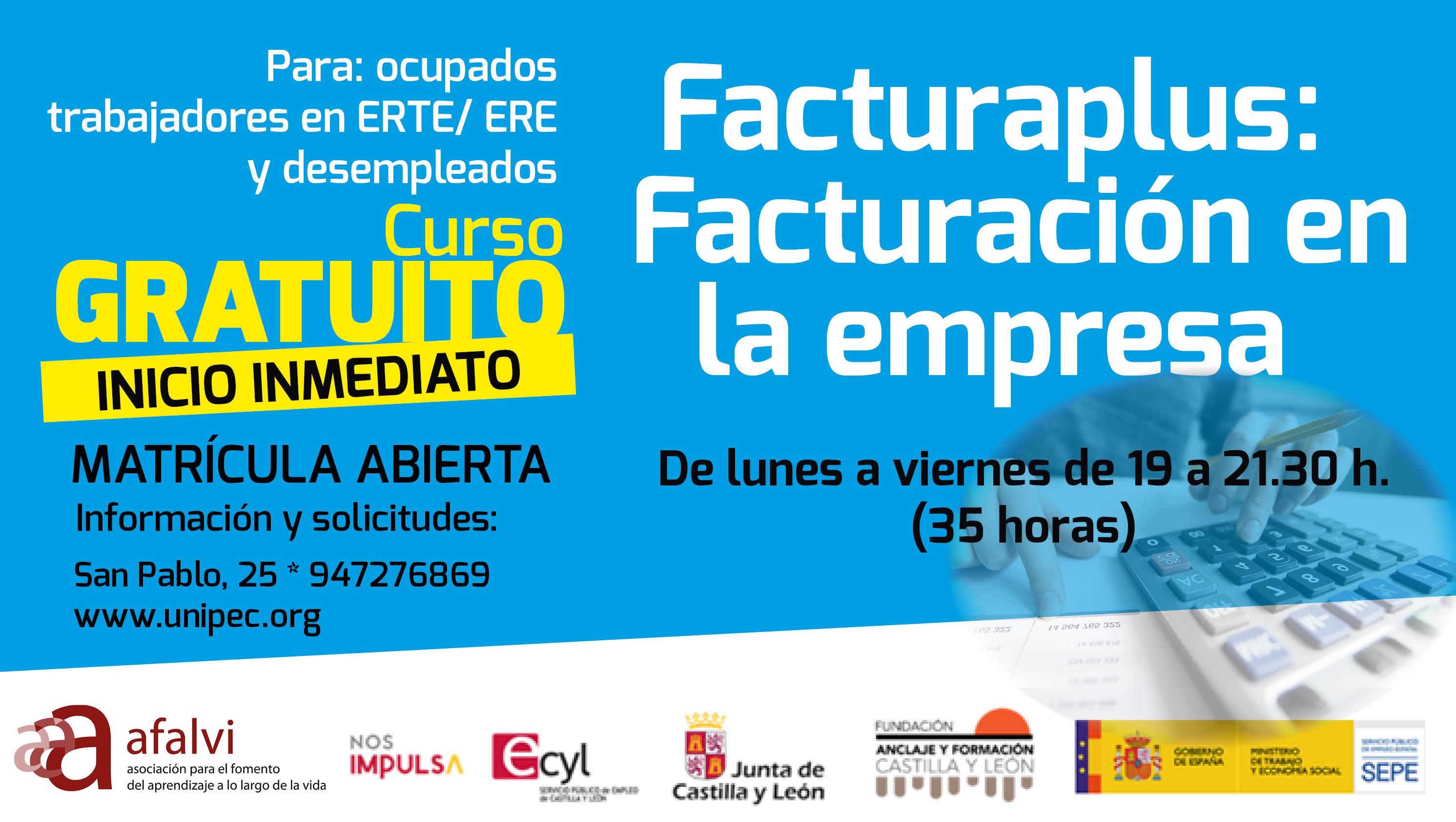 Facturaplus: Facturación en la empresa (35 horas)