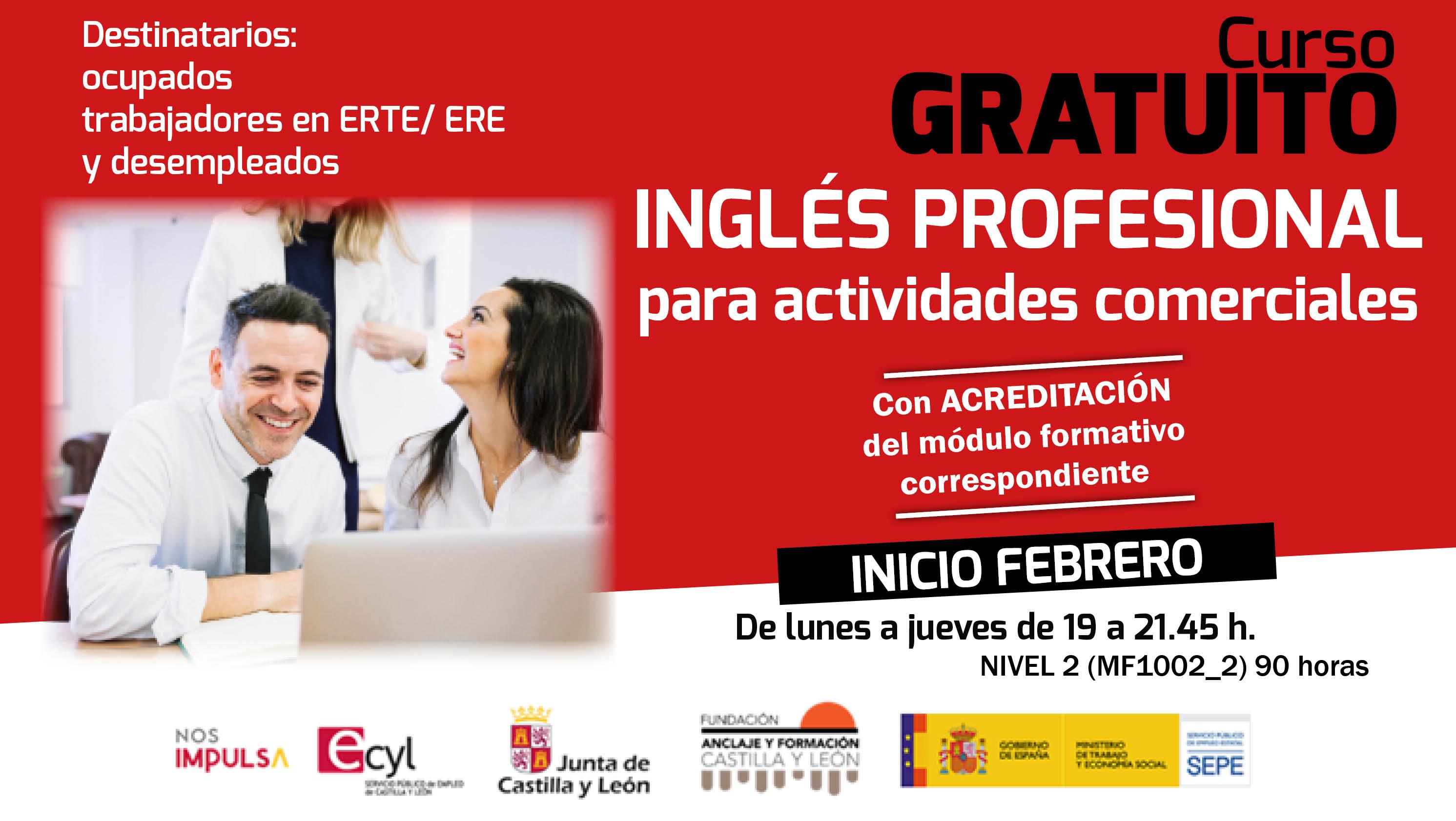 Inglés profesional para actividades comerciales
