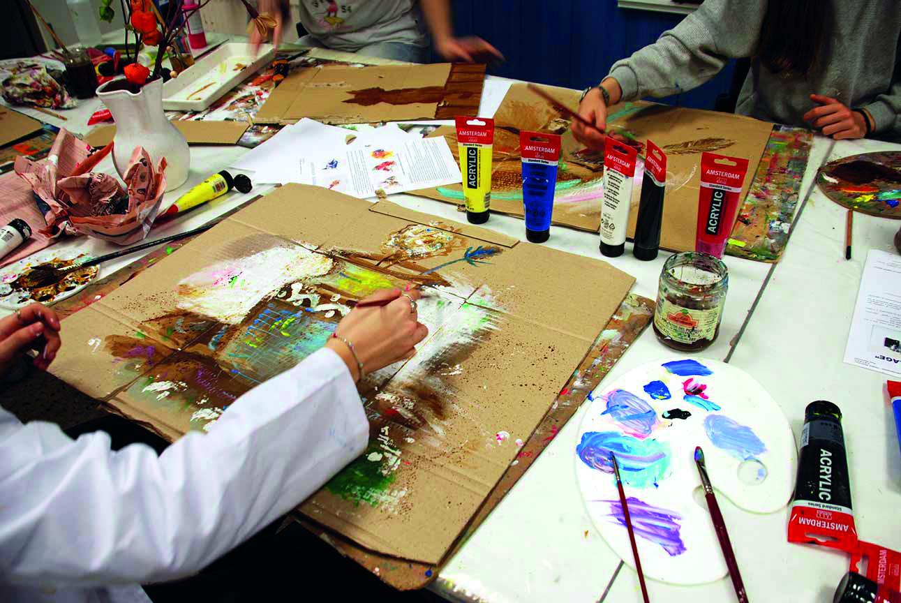 Dibujo, Pintura y Creatividad (II)