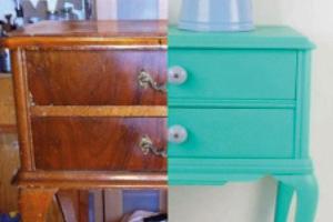 Restauración de muebles de pequeño formato