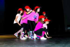 Deportiva y bailes